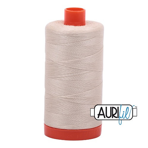 Aurifil 50 1300m 2310 Light Beige Cotton Thread