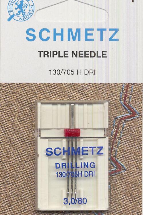 Schmetz Triple Universal Needle Size 3.0/80