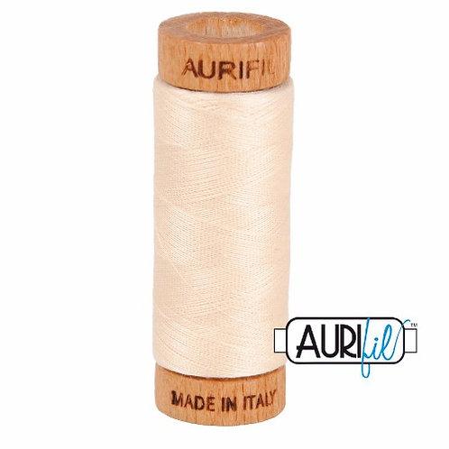 Aurifil 80 280m 2000 Light Sand Cotton Thread