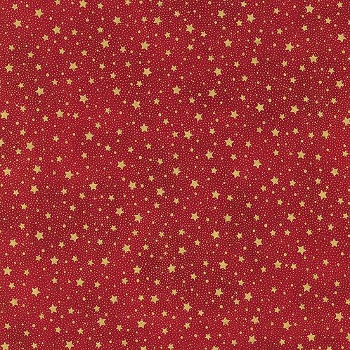 Holiday Flourish Holiday Stars Red w/metallic