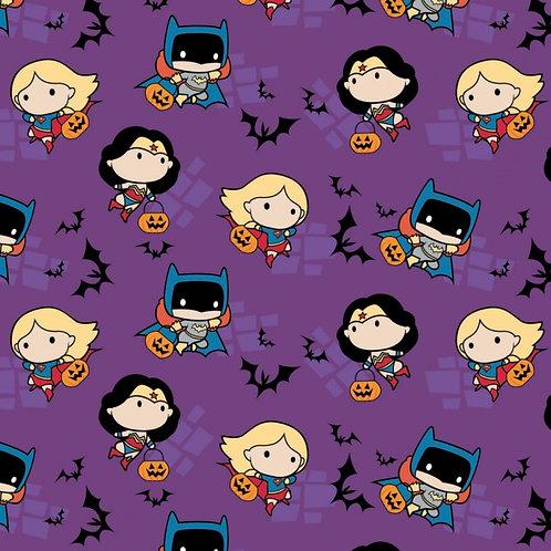 DC Girls Kawaii Halloween Fabric