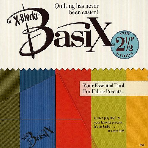 X- Blocks Basix Quilting Template