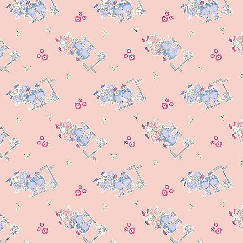 Alice in Wonderland Tweedle Dee and Dum Fabric