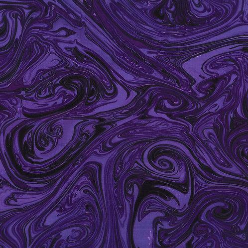 Grape Marble Fabric