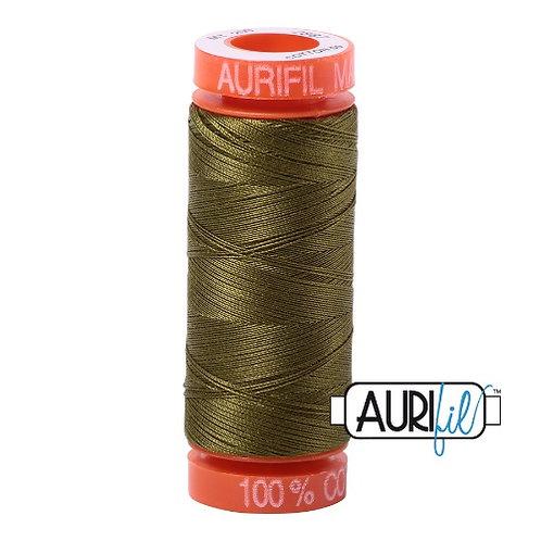 Aurifil 50 200m 2887 Cotton Thread Very Dark Olive