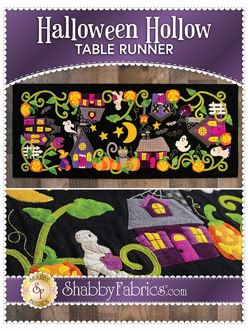Halloween Hollow Table Runner Pattern