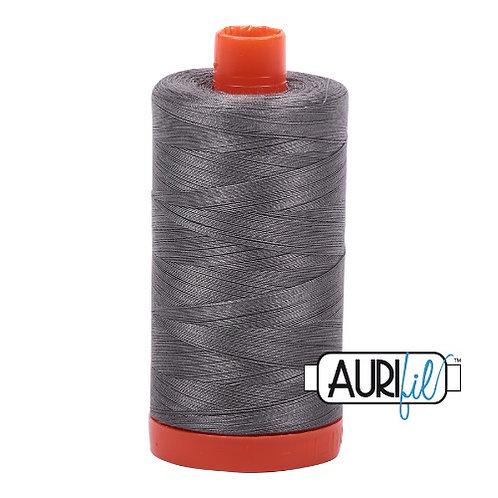 Aurifil 50 1300m 5004 Grey Smoke Cotton Thread