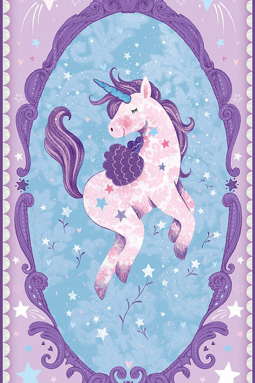 Lilac Unicorn Panel