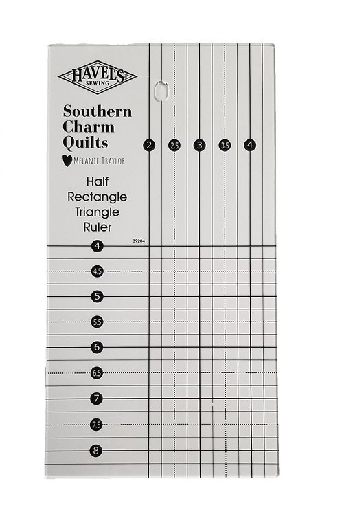 Southern Charm Quilts Half Rectangle Triangle Ruler