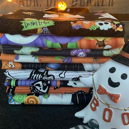 Ghost Glow Fat Quarter Bundle x 9 pcs