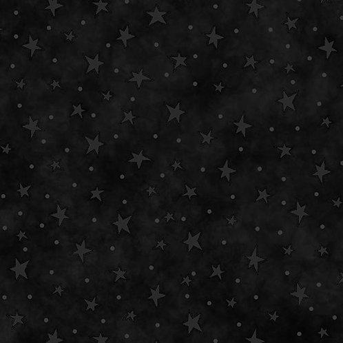 Black Starry Fabric