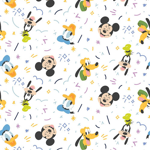 Disney Mickey Mouse Play all Day Fabric