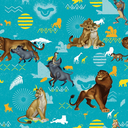 Lion King Character Fleece