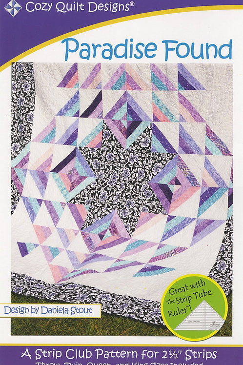 Cozy Quilt Designs Paradise Found Quilt Pattern
