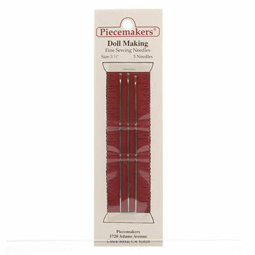 Piecemaker Dollmaking Needles 3 1/2in