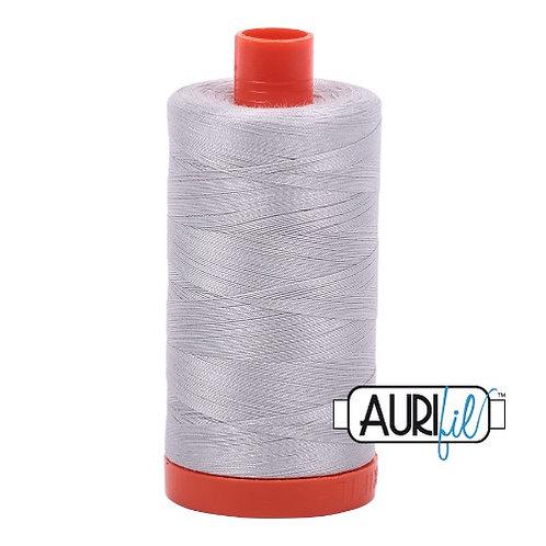 Aurifil 50 1300m 2615 Aluminium Cotton Thread