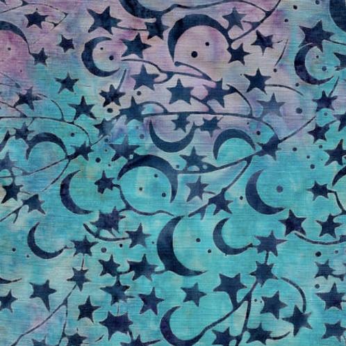 Island Batik Northern Lights - Star Mystic Berry
