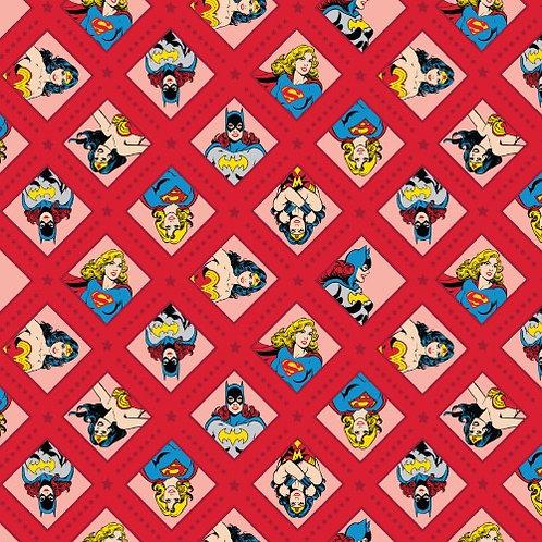 DC Super Women Fabric