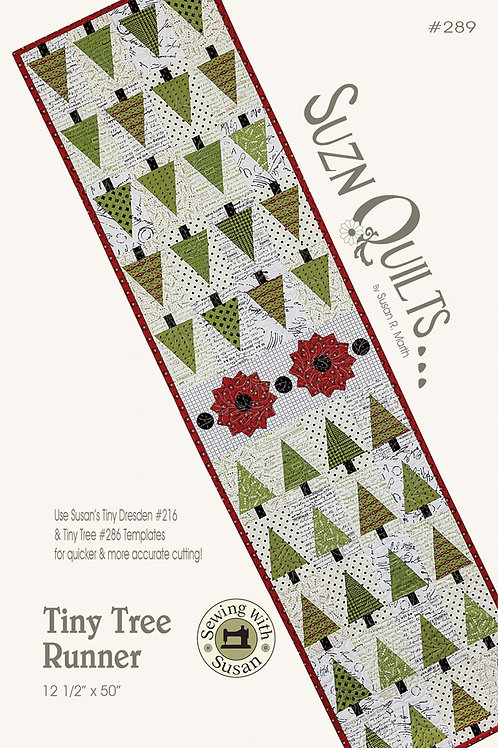 Tiny Tree Table Runner Pattern