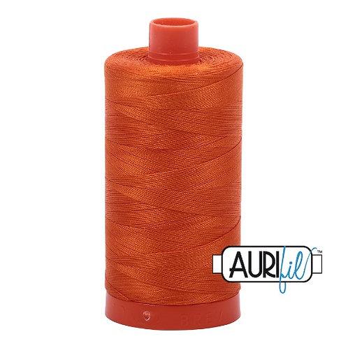 Aurifil 50 1300m 2235 Orange Cotton Thread