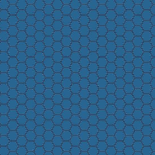 Makower Andover Blue 7488/B