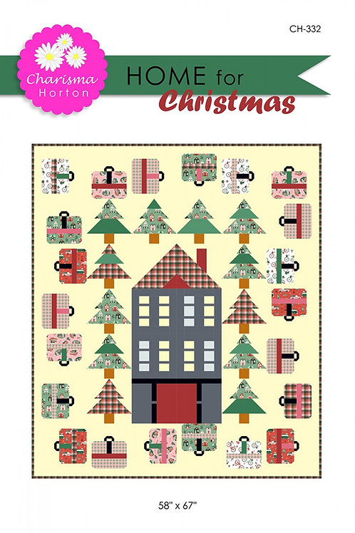 Home For Christmas Quilt Pattern