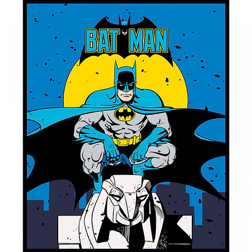 DC Batman Fabric Panel