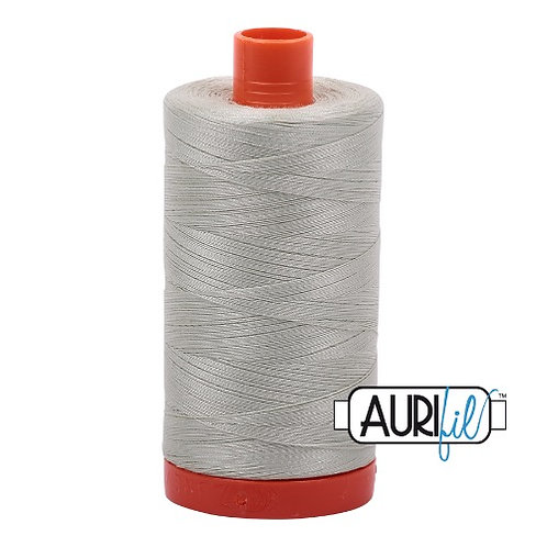 Aurifil 50 1300m 2843 Light Grey Green Cotton Thread