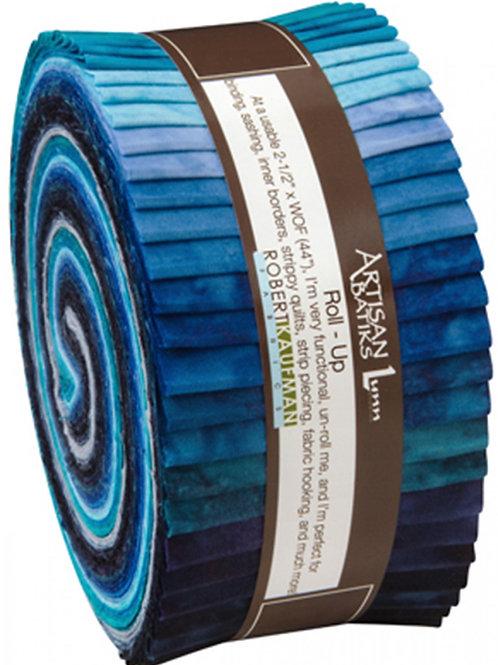Robert Kaufman Prisma Dyes Batik Roll Up - Open Waters