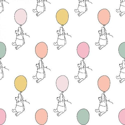 Winnie the Pooh Balloons Fabric
