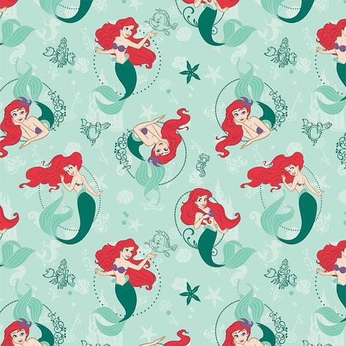 Disney The Little Mermaid Fabric