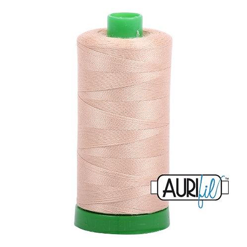 Aurifil 40 1000m 2314 Beige Cotton Thread