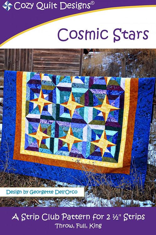 Cozy Quilt Designs Cosmic Stars Quilt Pattern