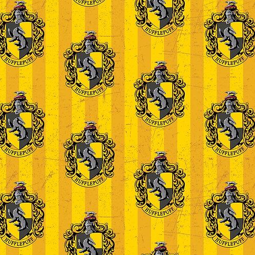 Harry Potter Hufflepuff Fleece Fabric Houses