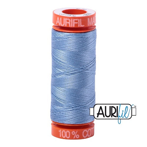 Aurifil 50 200m 2720 Cotton Thread Light Delft Blue