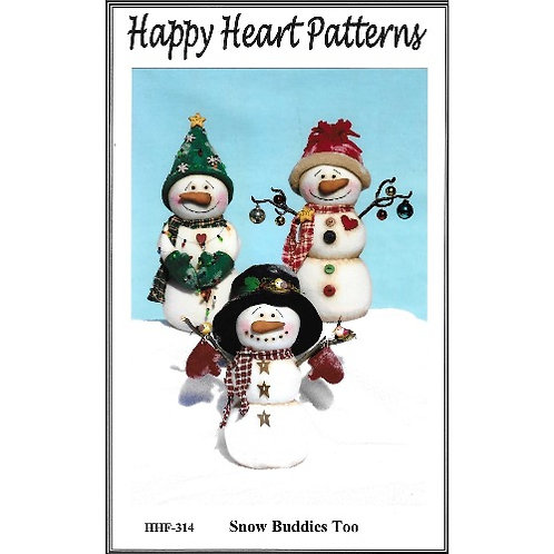 Snow Buddies Too Pattern