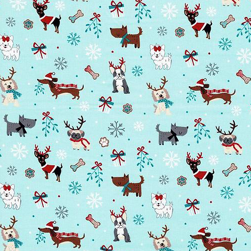 Mint Christmas Dogs