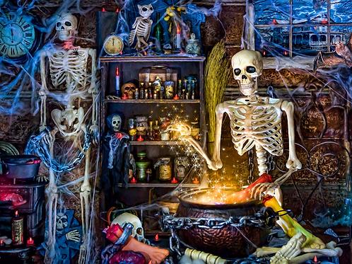 The Wizard Halloween Panel