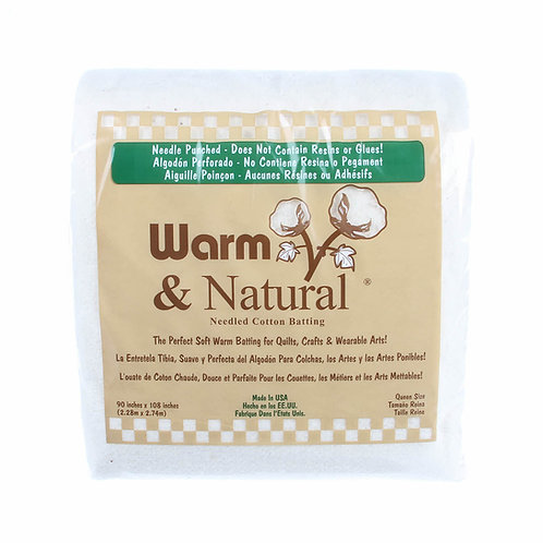 Warm and Natural Queen Size - Cotton
