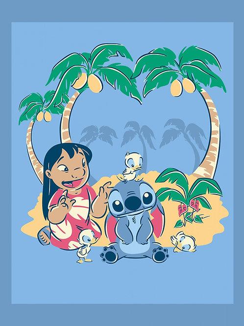 Disney Lilo and Stitch Panel