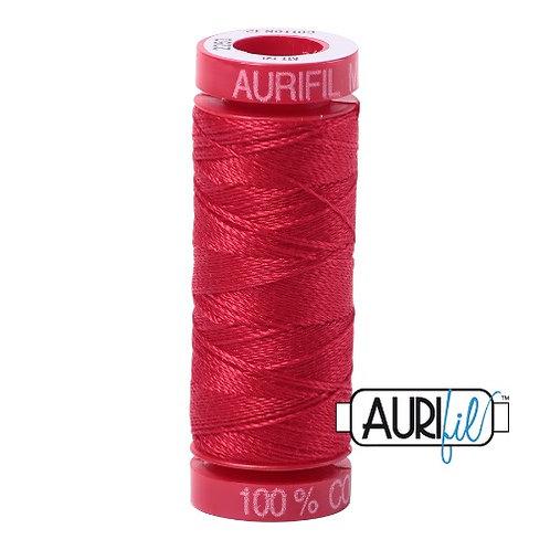 Aurifil 12 50m 2250 Red Cotton Thread
