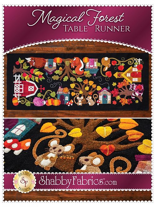 Magical Forest Table Runner Pattern