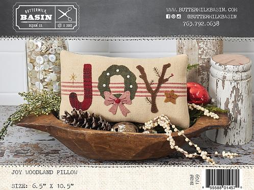 Joy Woodland Pillow Pattern