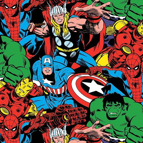 Marvel Comic Pack Fabric
