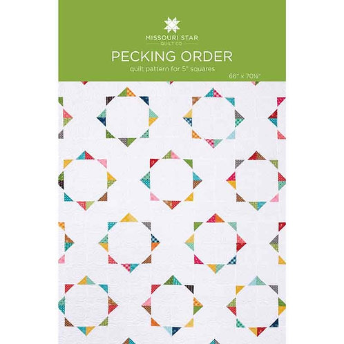 Missouri Star Pecking Order Quilt Pattern