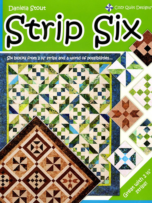 Cozy Quilt Designs Strip Six Softcover