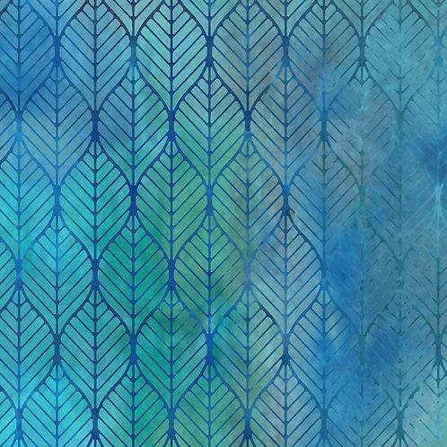 Garden of Dreams Fabric - Blue/Teal
