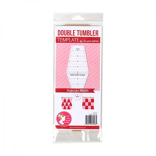 Double Tumbler Quilting Template