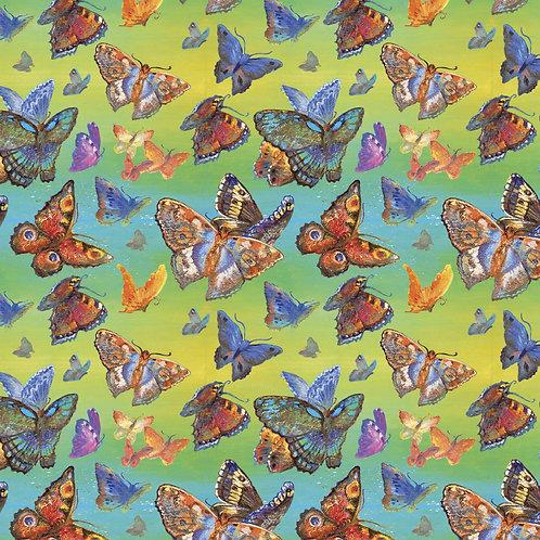 Wings Of Joy Butterfly Fabric