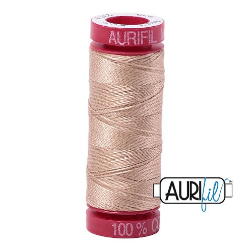Aurifil 12 50m 2314 Beige Cotton Thread